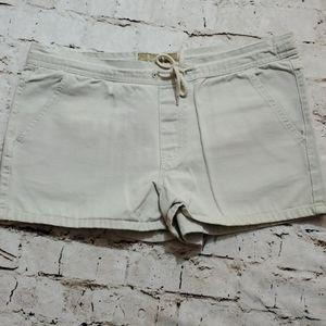 Vintage LEI Drawstring Cargo Khaki Shorts Sz 5